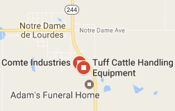 Tuff Cattle Handling Equipment - Map